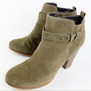 Franco Fortini Suede Leather Ankle Boot 9.5 SS692